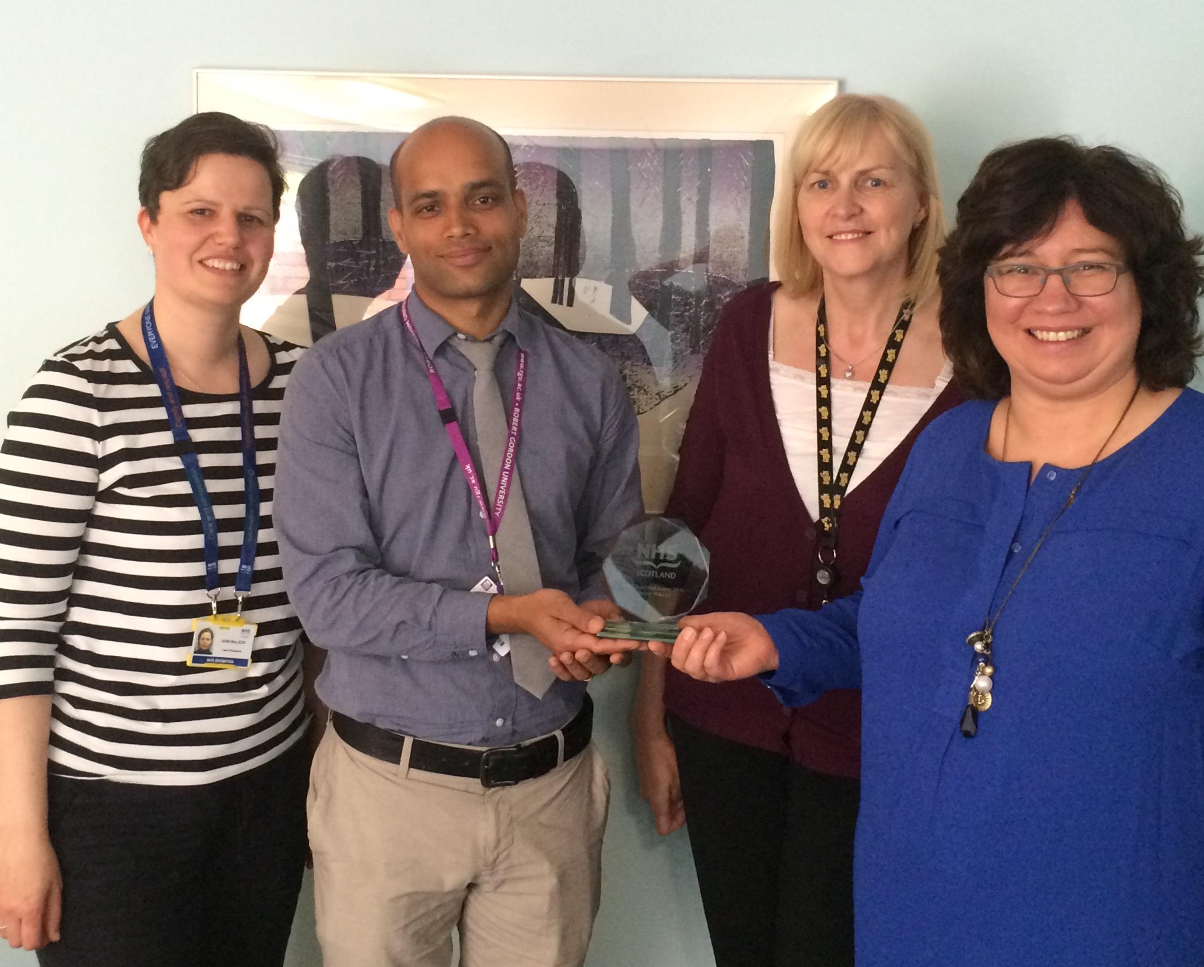 NHS Scotland Award