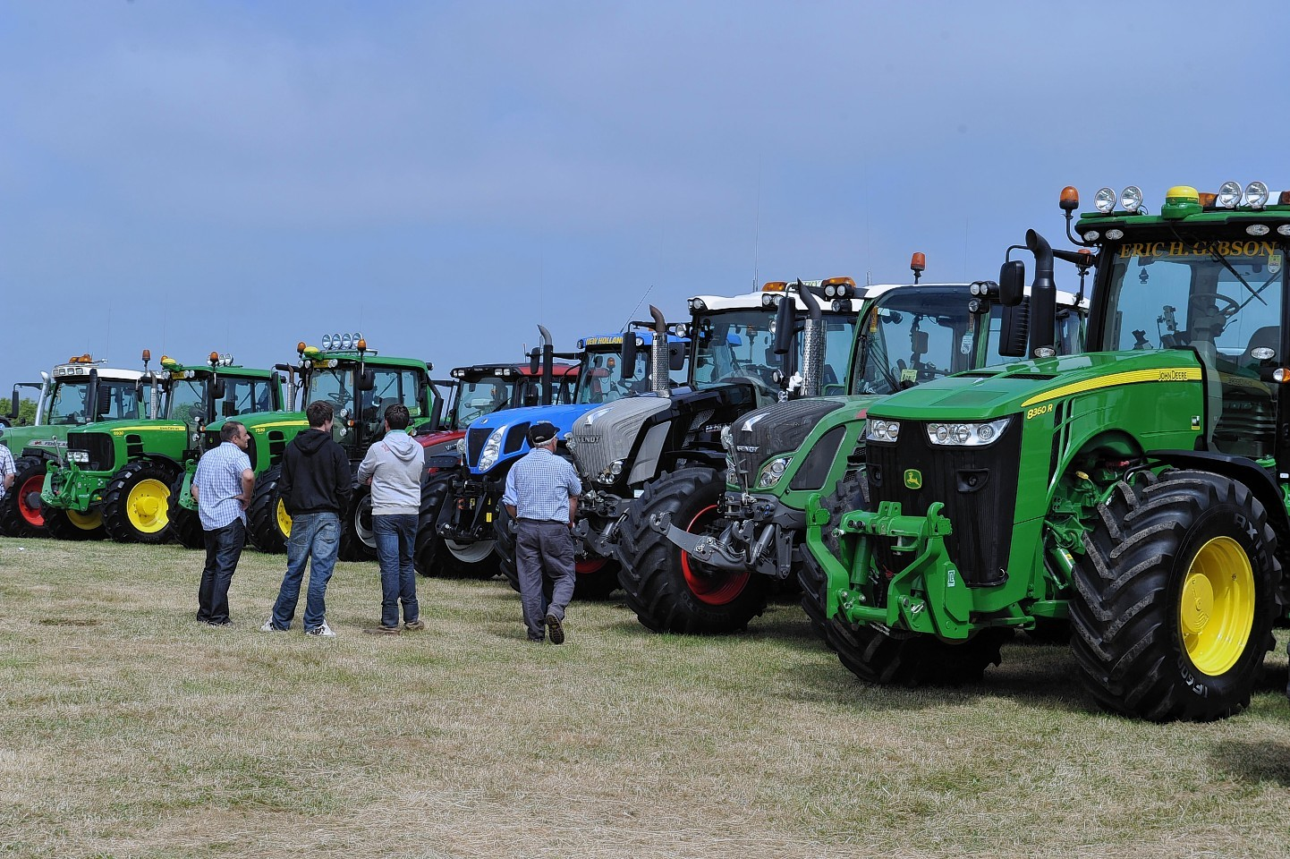 Farmers' spend on farm machinery is down