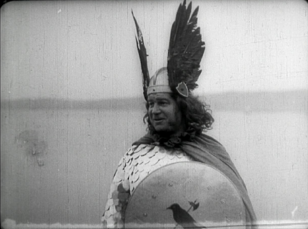 A still from the 1927 Up Helly Aa Viking Festival (From Britain on Film available at BFI Player)