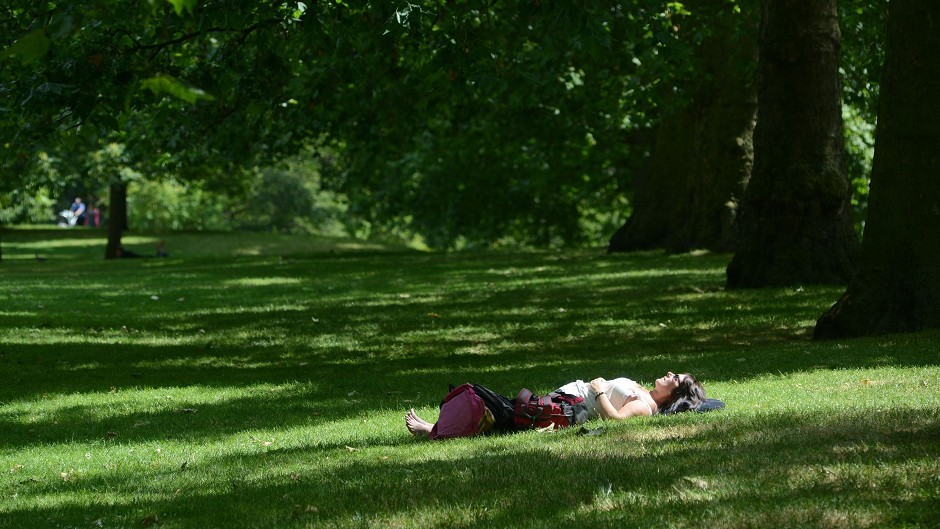 Access to green space is good for people's wellbeing,