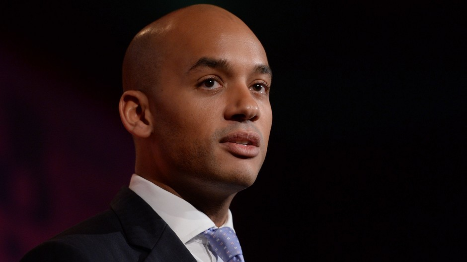 Group chairman Chuka Umunna