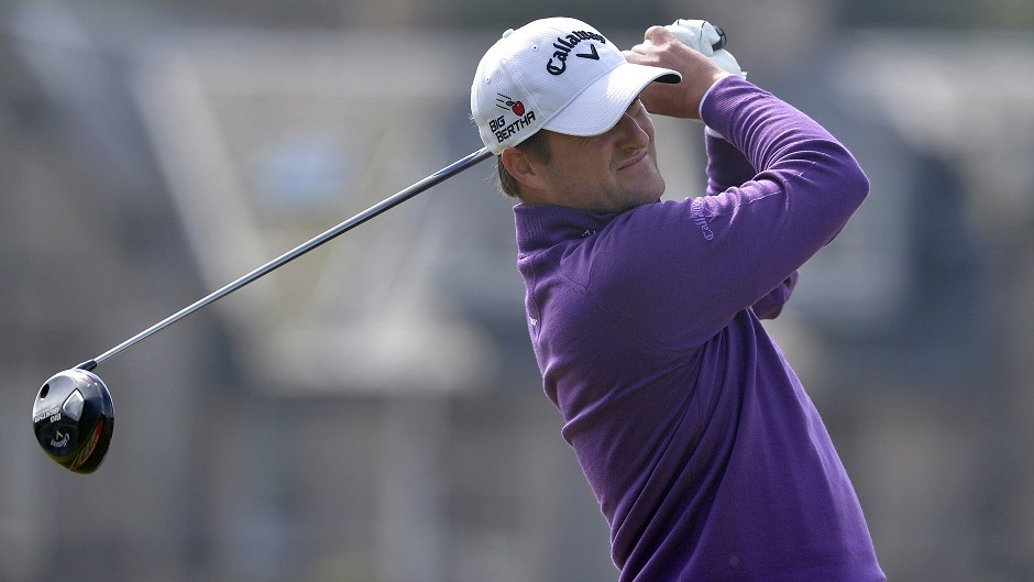 Scotland's Marc Warren carded a second-round 69 at St Andrews