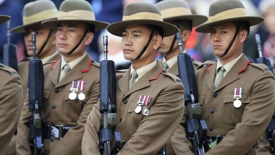 Gurkha soldiers have been sent to the Western Isles on exercise
