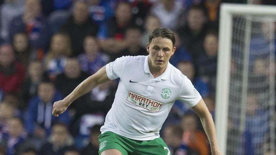 Hibernian midfielder Scott Allan is wanted by Rangers