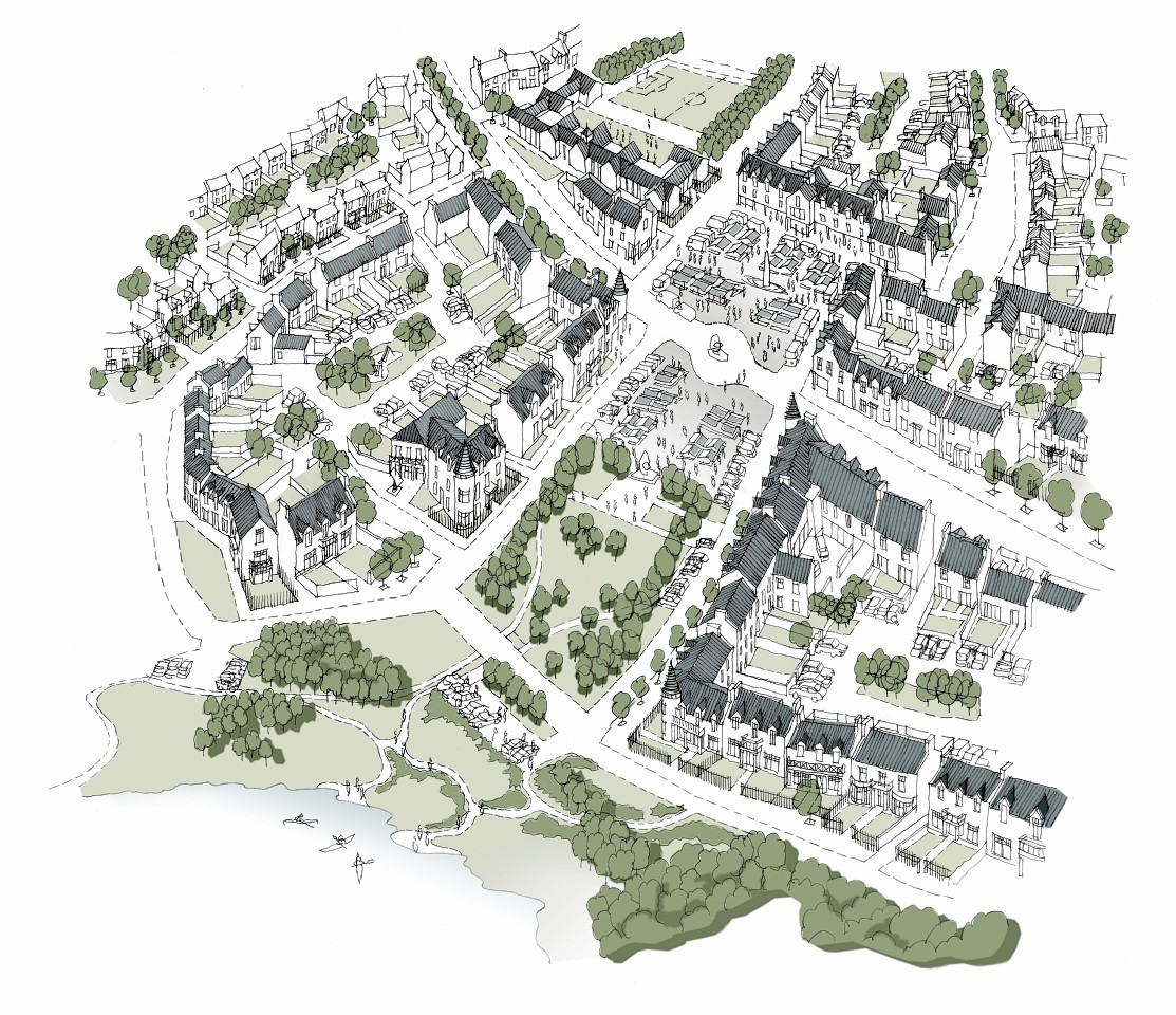 An artist impression of the plans Kincluny at Park Quarry, Drumoak