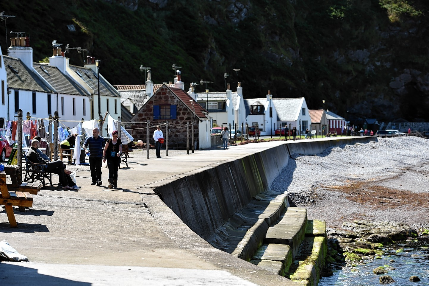 Pennan is one of the villages that could benefit from more tourism