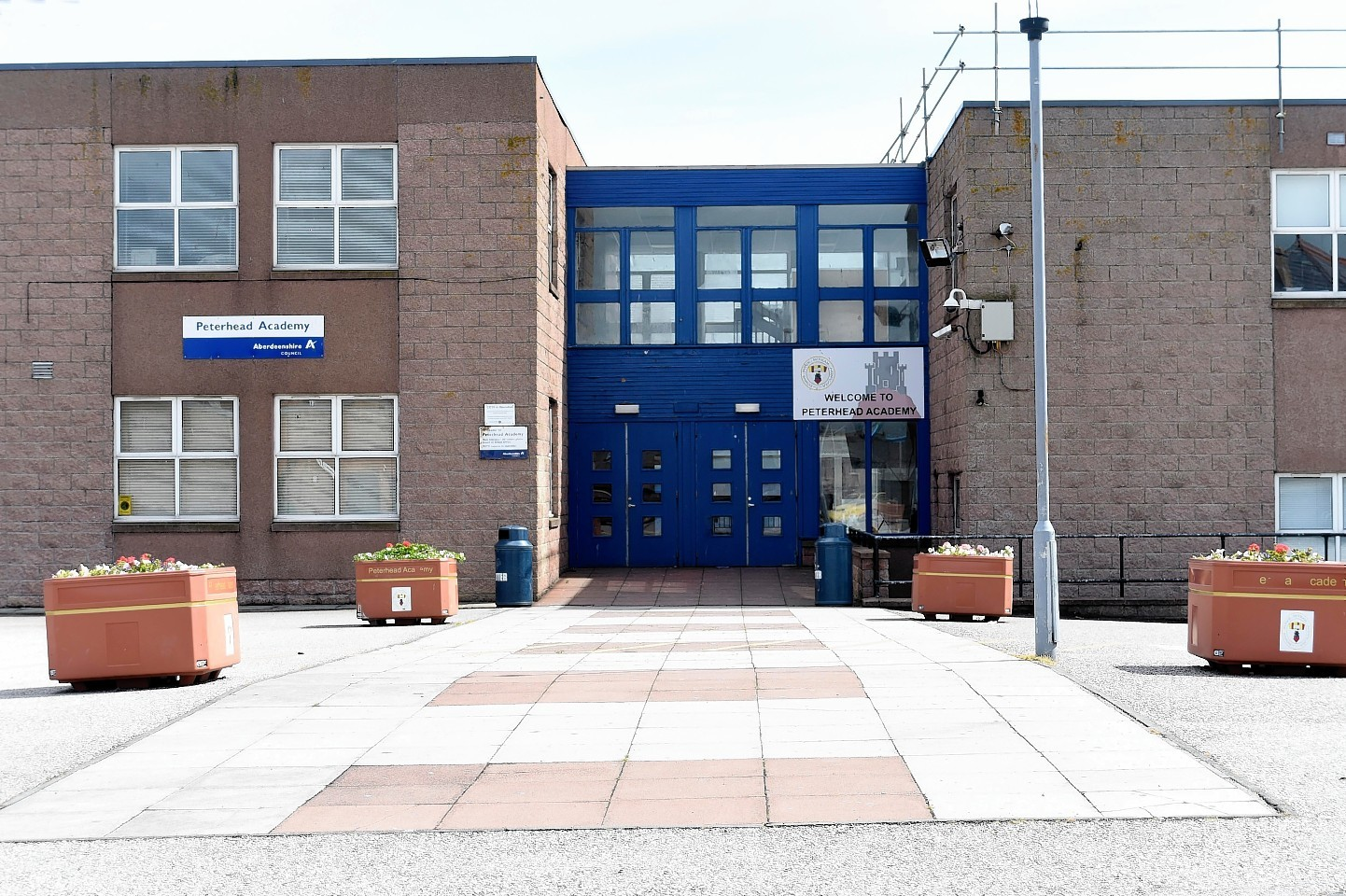 Peterhead Academy.