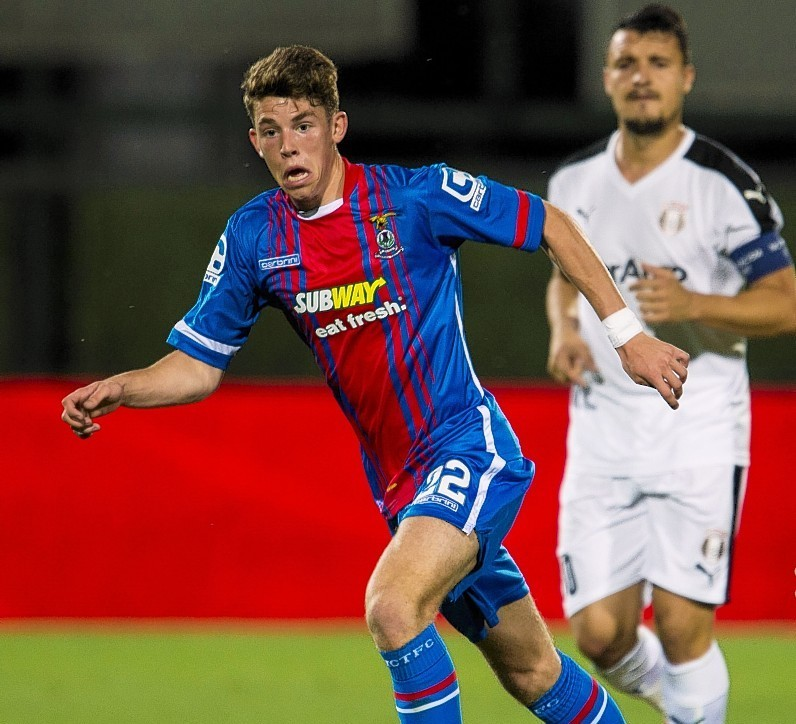 Ryan Christie has returned to Caley Thistle on loan after joining Celtic