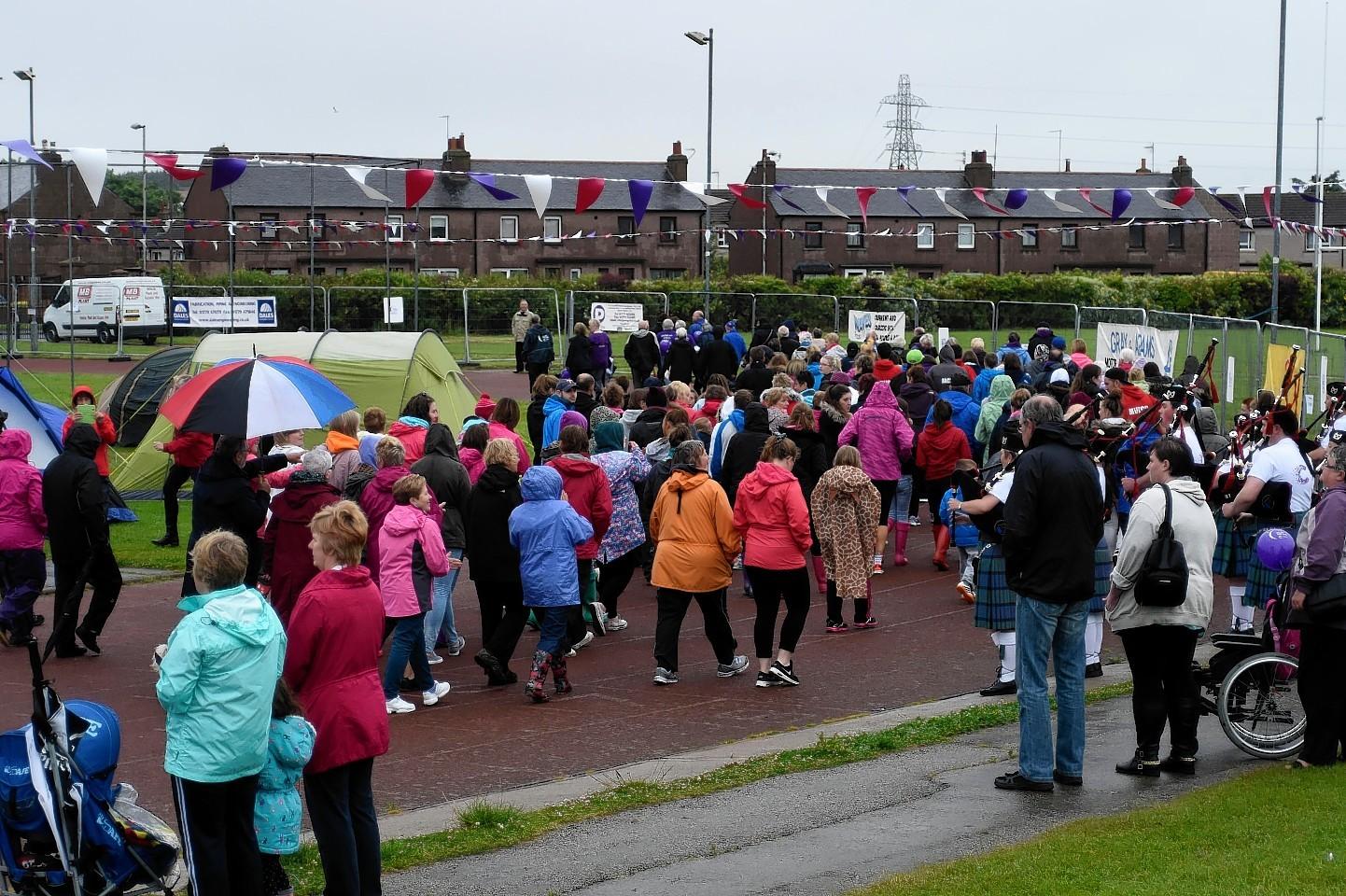 The 24-hour marathon event raises about £200,000 each year