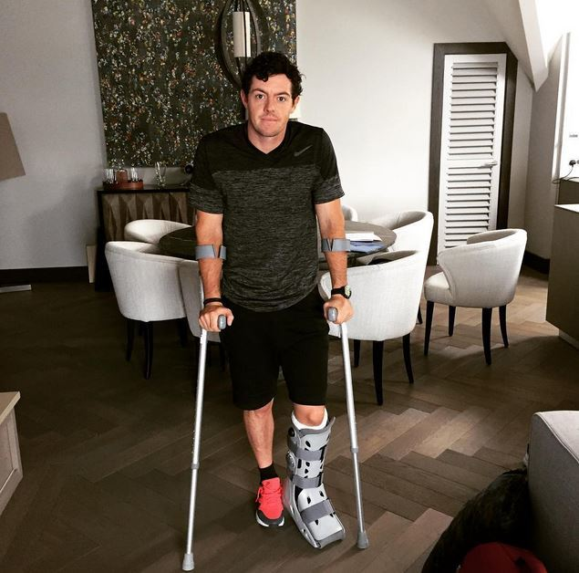 Rory McIlroy broke the news on Instagram