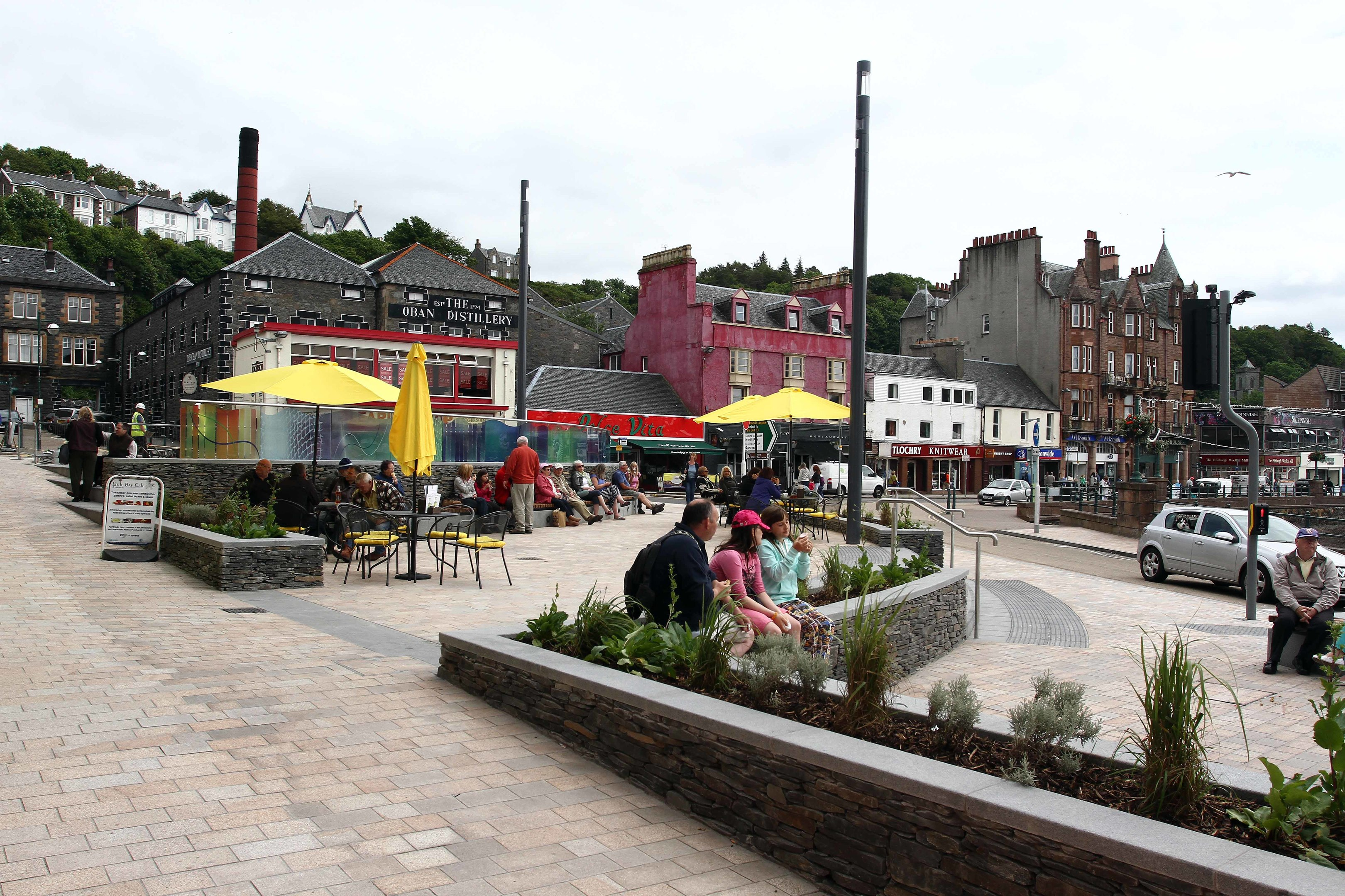 Oban town centre