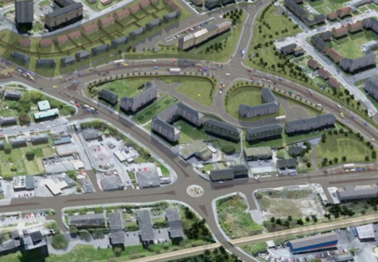 Plans to relieve the strain on Aberdeen's Haudagain Roundabout