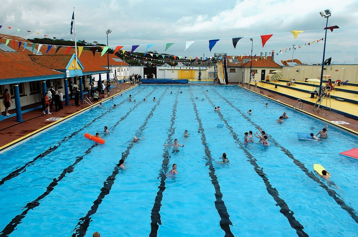 The Stonehaven Open Air Pool