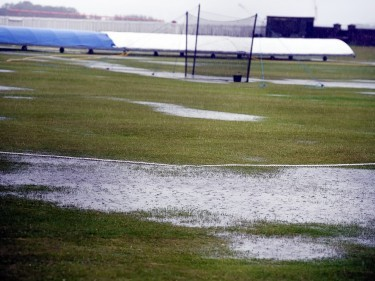 The cricket match between Stoneywood and Dyce was cancelled