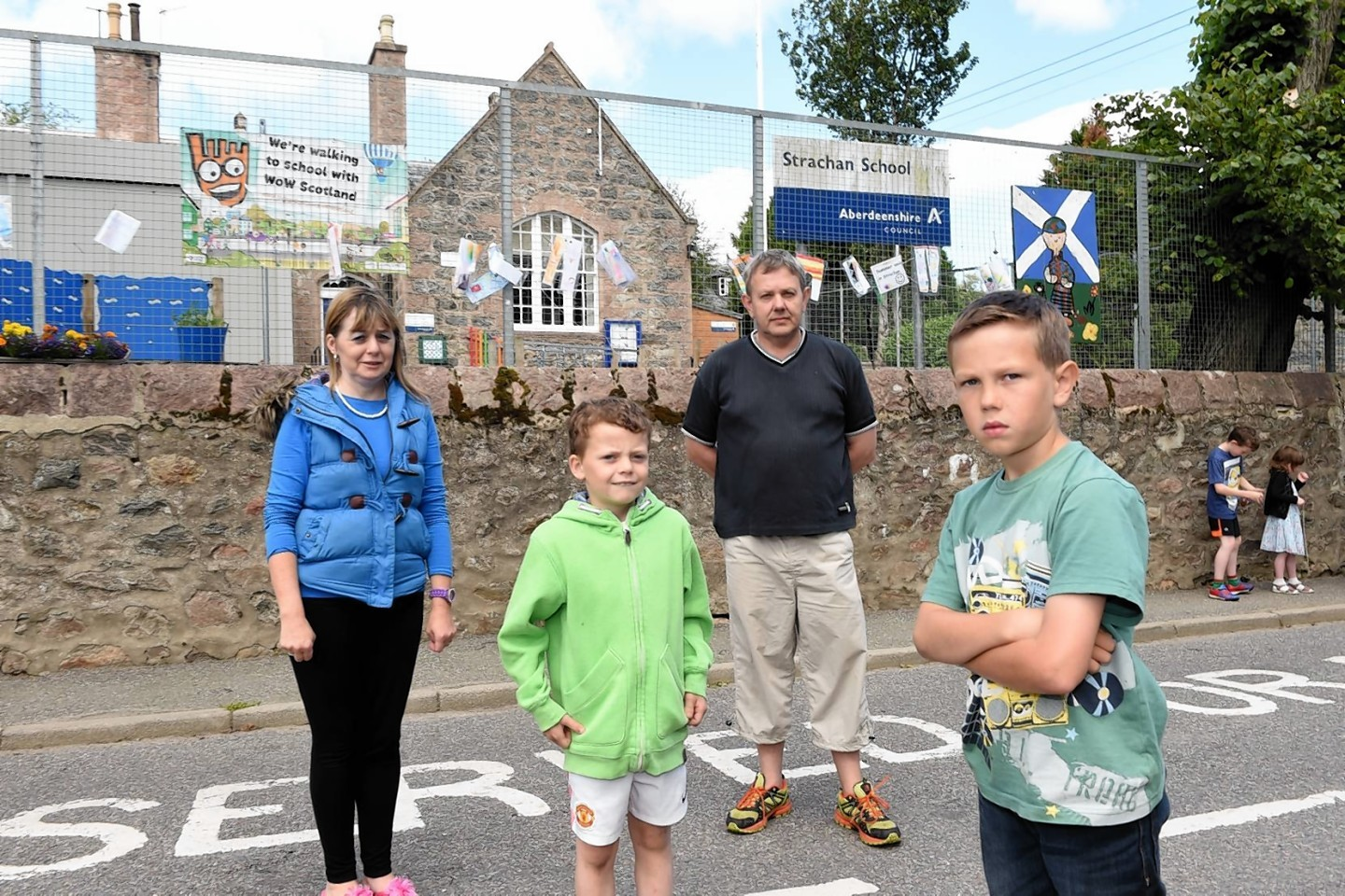 Parents were furious at decision to mothball Strachan Primary
