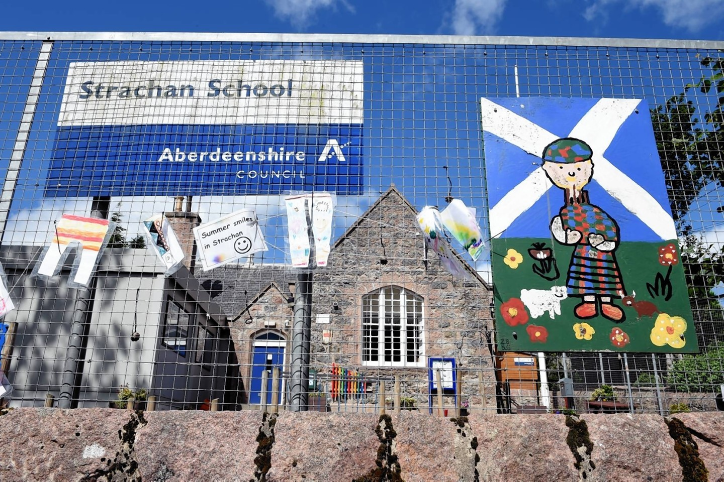 Strachan School, near Banchory, has been mothballed