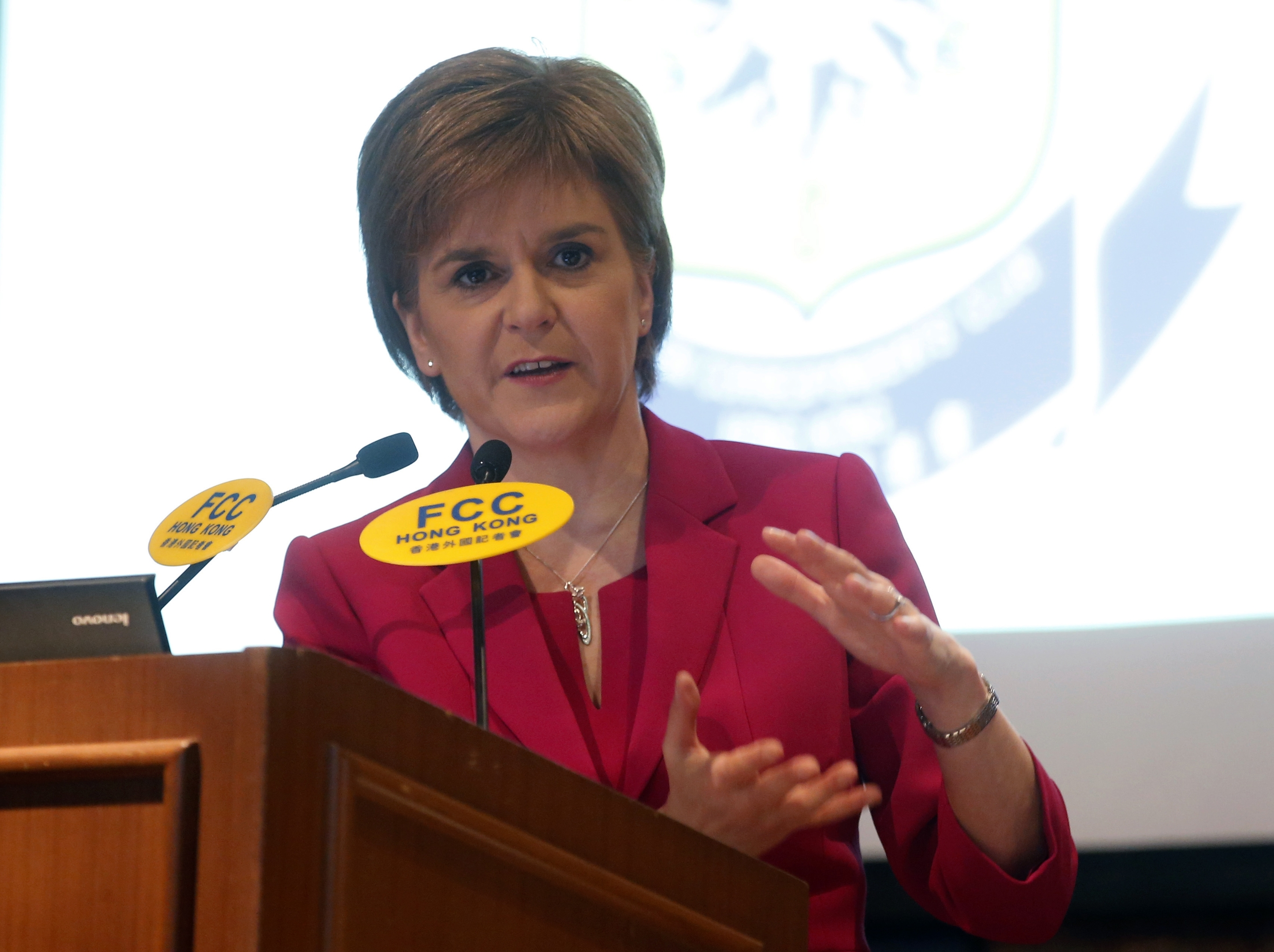 First Minister of Scotland Nicola Sturgeon says online abuse must end