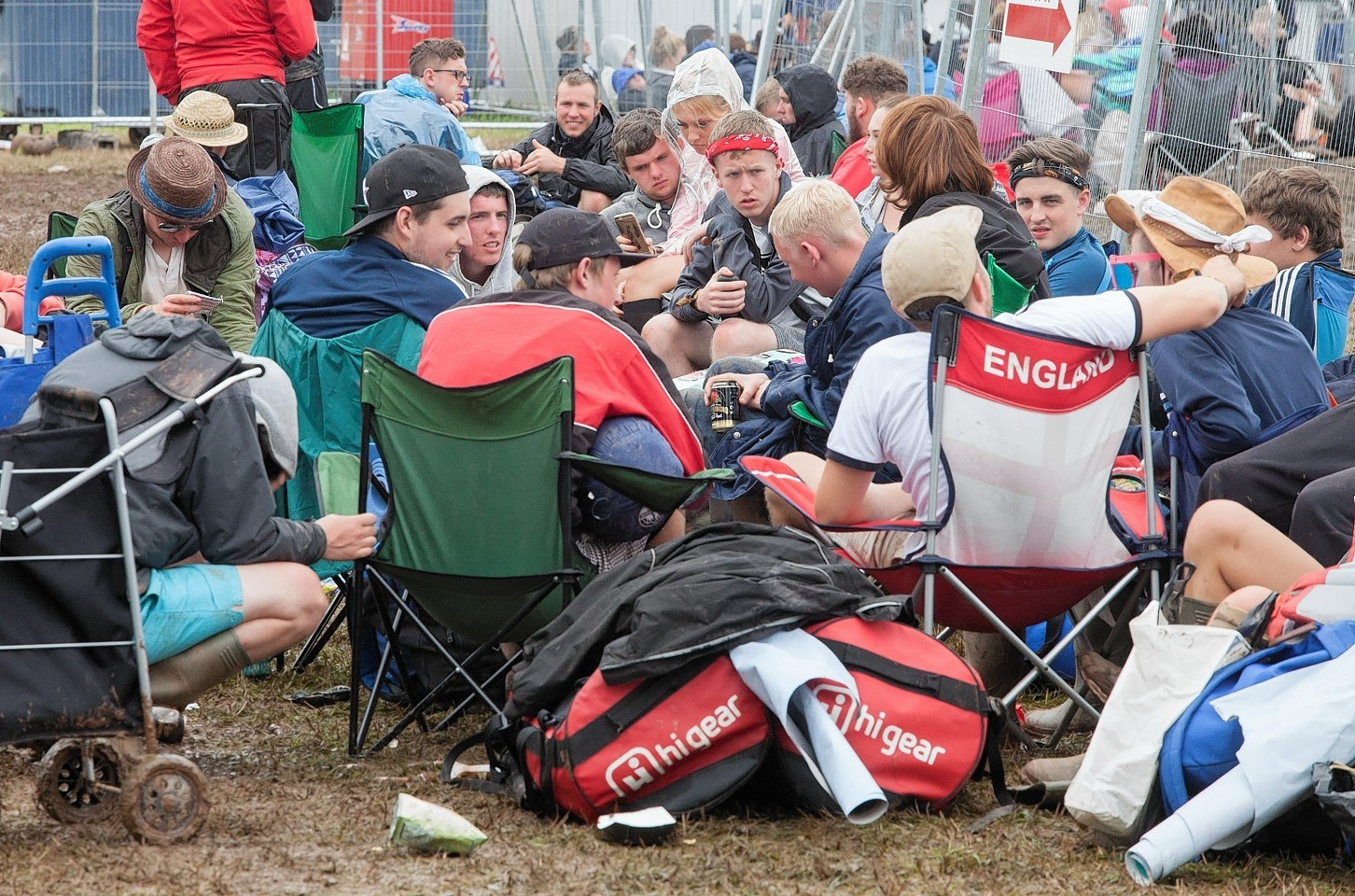People pack up and leave T in the Park after three days of partying
