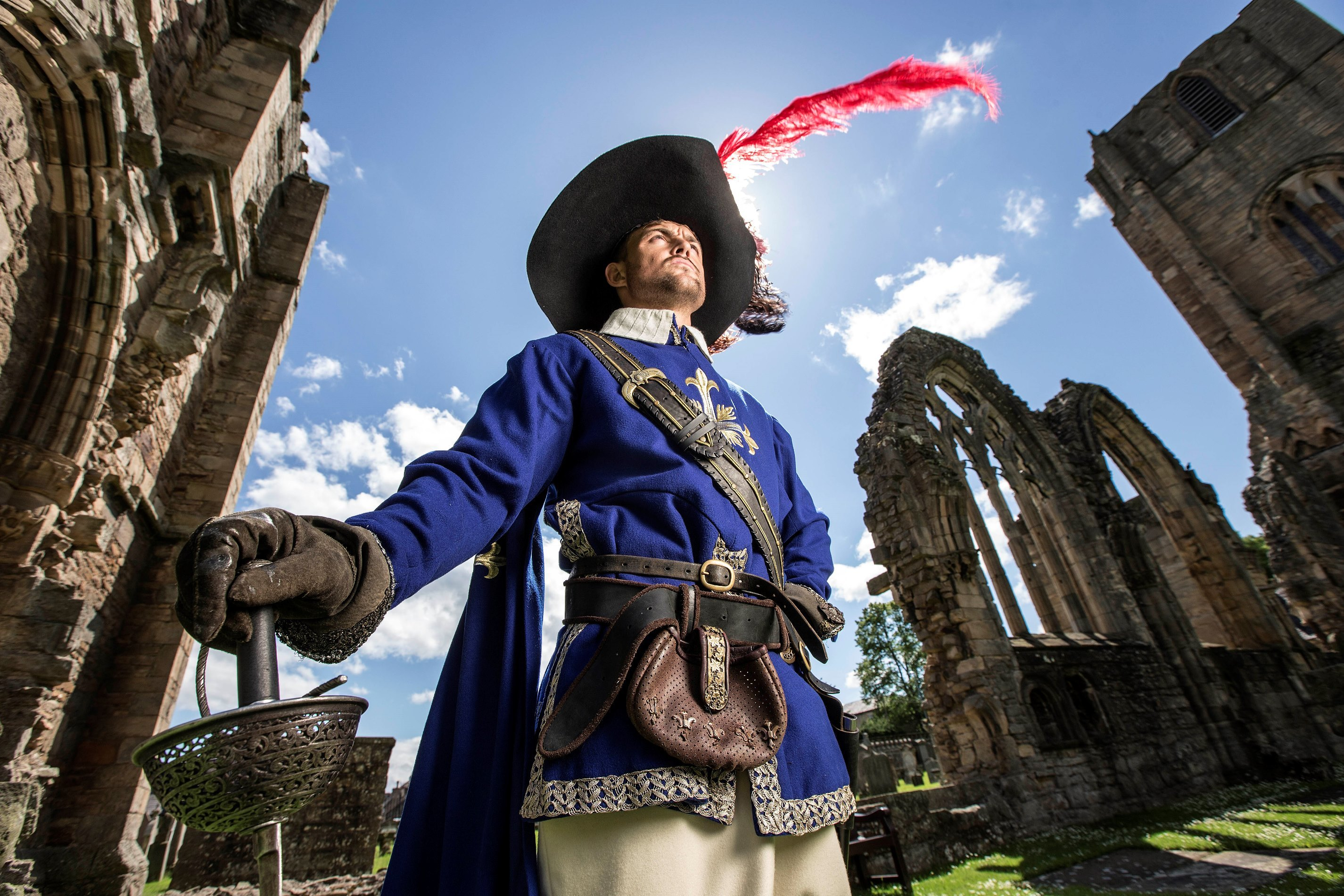The Three Musketeers will be performed at Elgin Cathedral