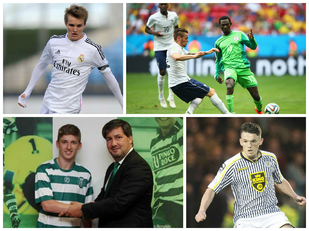 Odegaard could still join Celtic, Oshaniwa is heading to Hearts, Gauld looks like making the step up and McGinn could be off to America