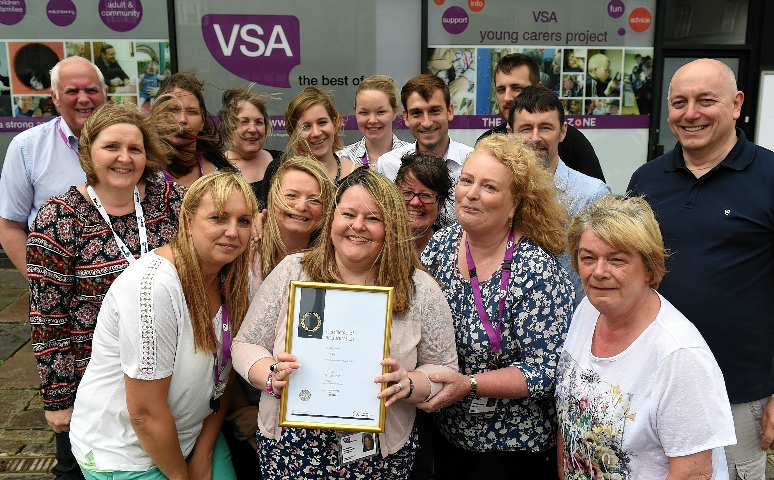 VSA have won a gold award from Investors in People. Picture by Kami Thomson