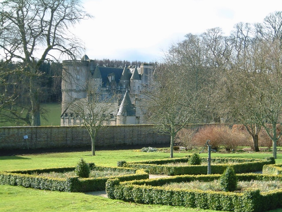 The walled garden at Gordon Castle