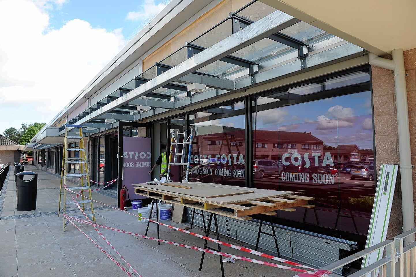 Costa Coffee is the latest shop to sign up for Westhill Shopping Centre