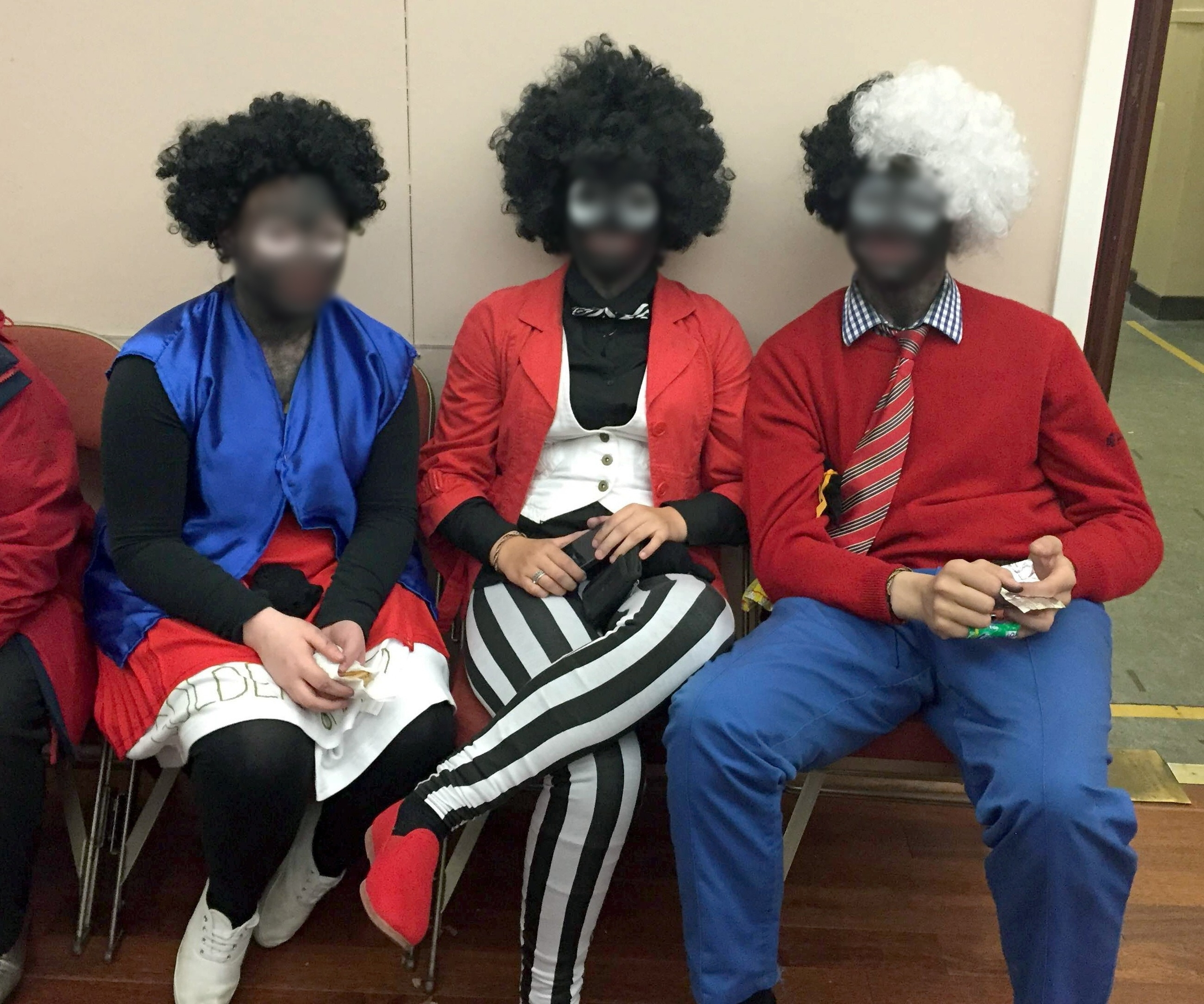 Police received a complaint about costumes at the Wick Gala Day