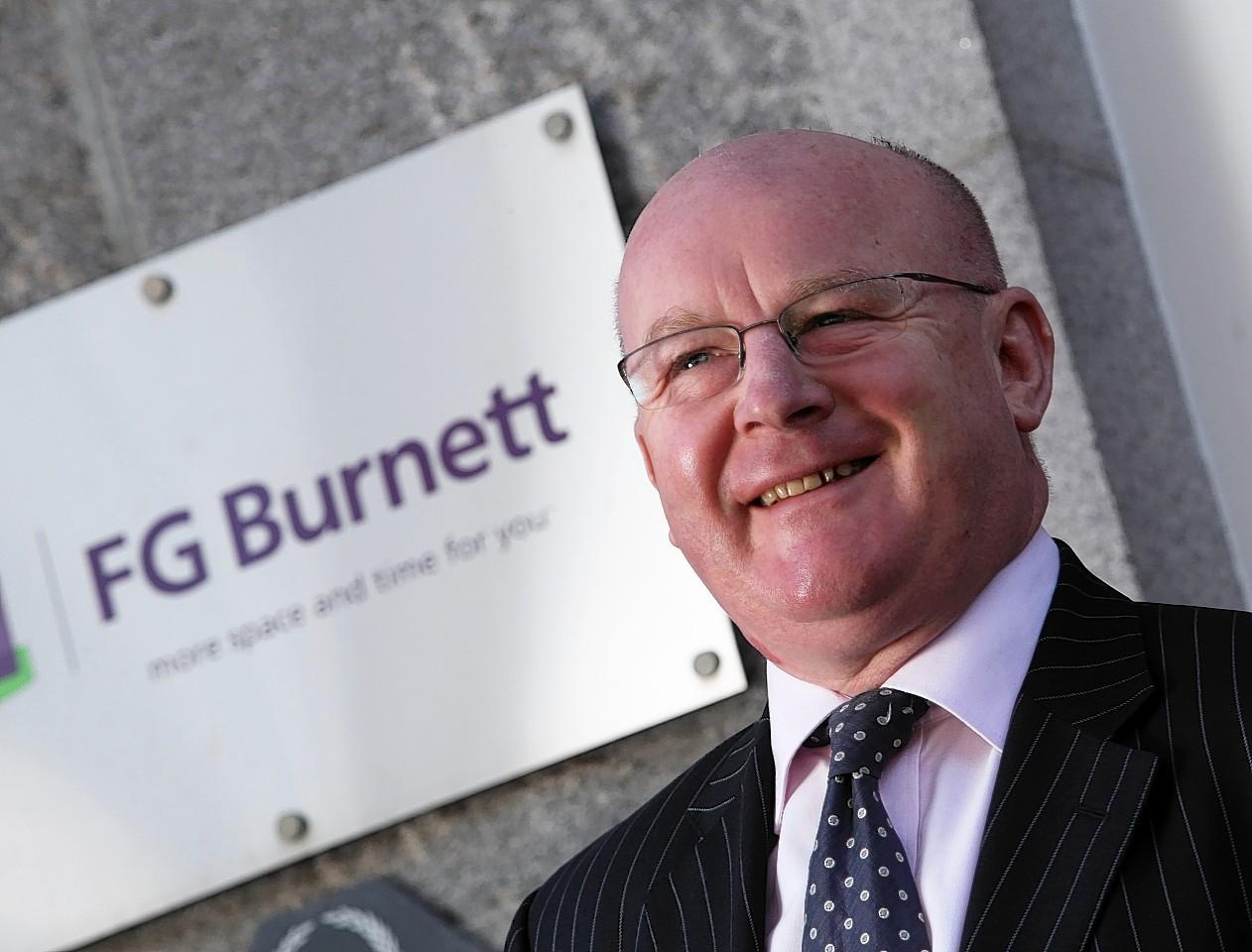 Angus MacCuish, managing director, FG Burnett