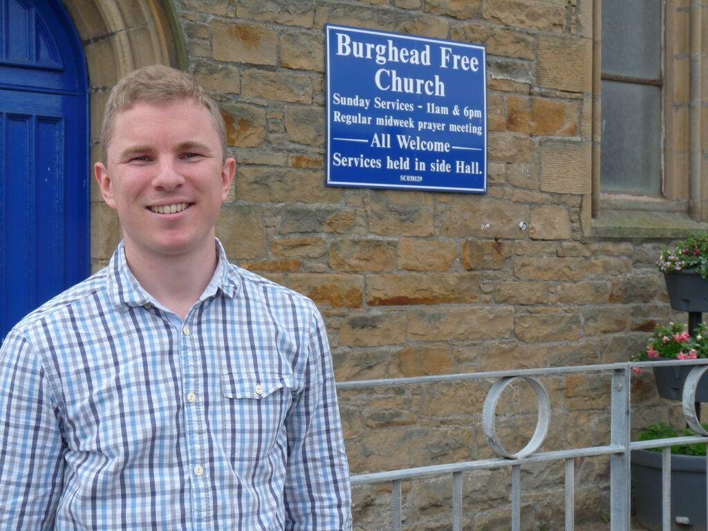 Burghead's pastor Peter Turnbull