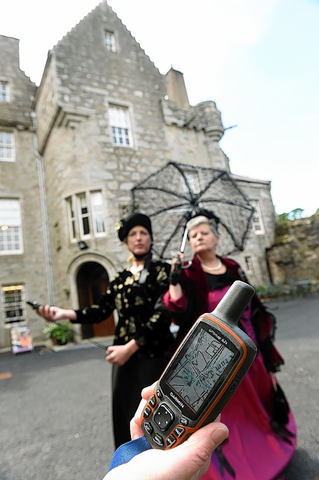 Scotland's first geo-trail will be launched at Drum Castle this weekend