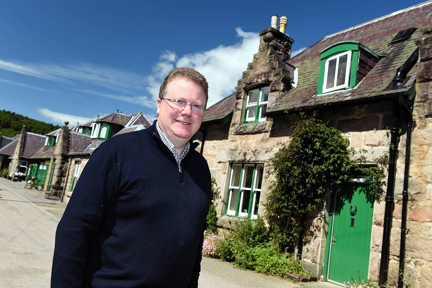 Glen Tanar estate owner Michael Bruce. Picture by Kevin Emslie