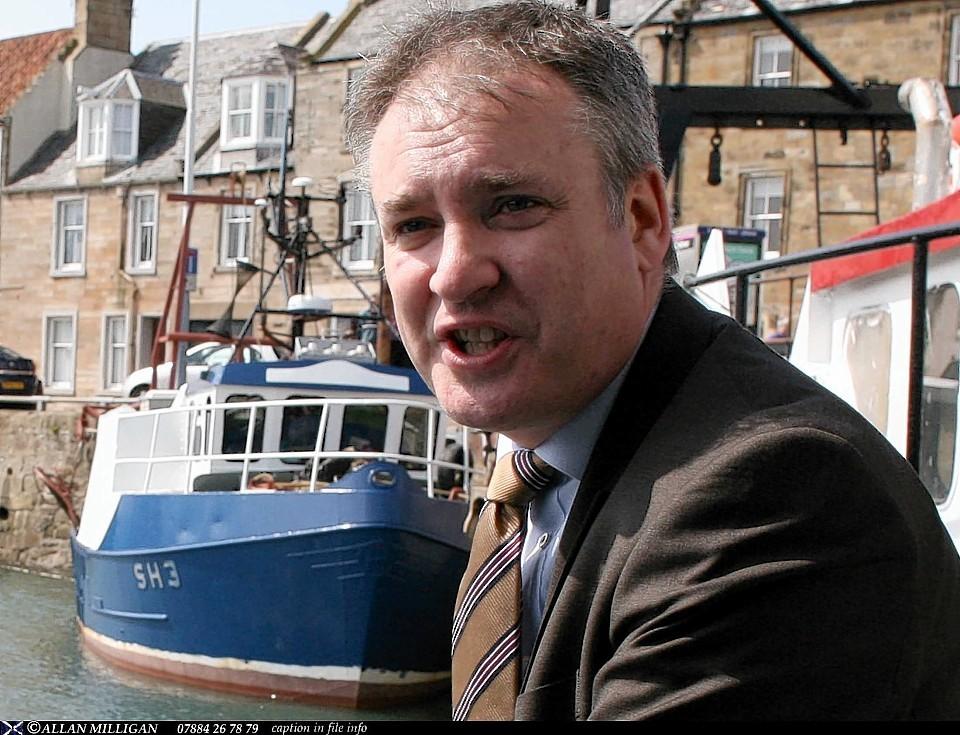 Fisheries Secretary Richard Lochhead