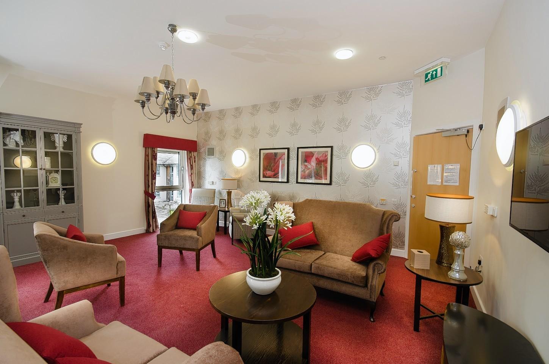 Inside the Rubislaw Park Care Home