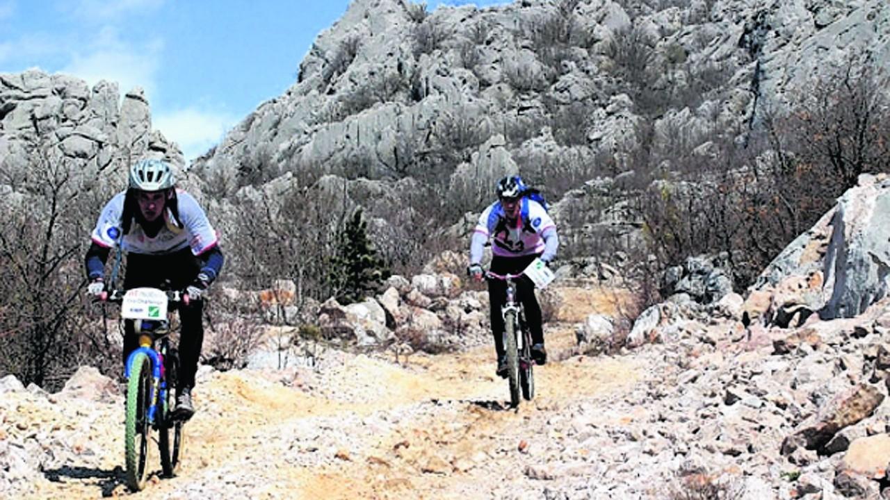 Mountain biking in Paklenica