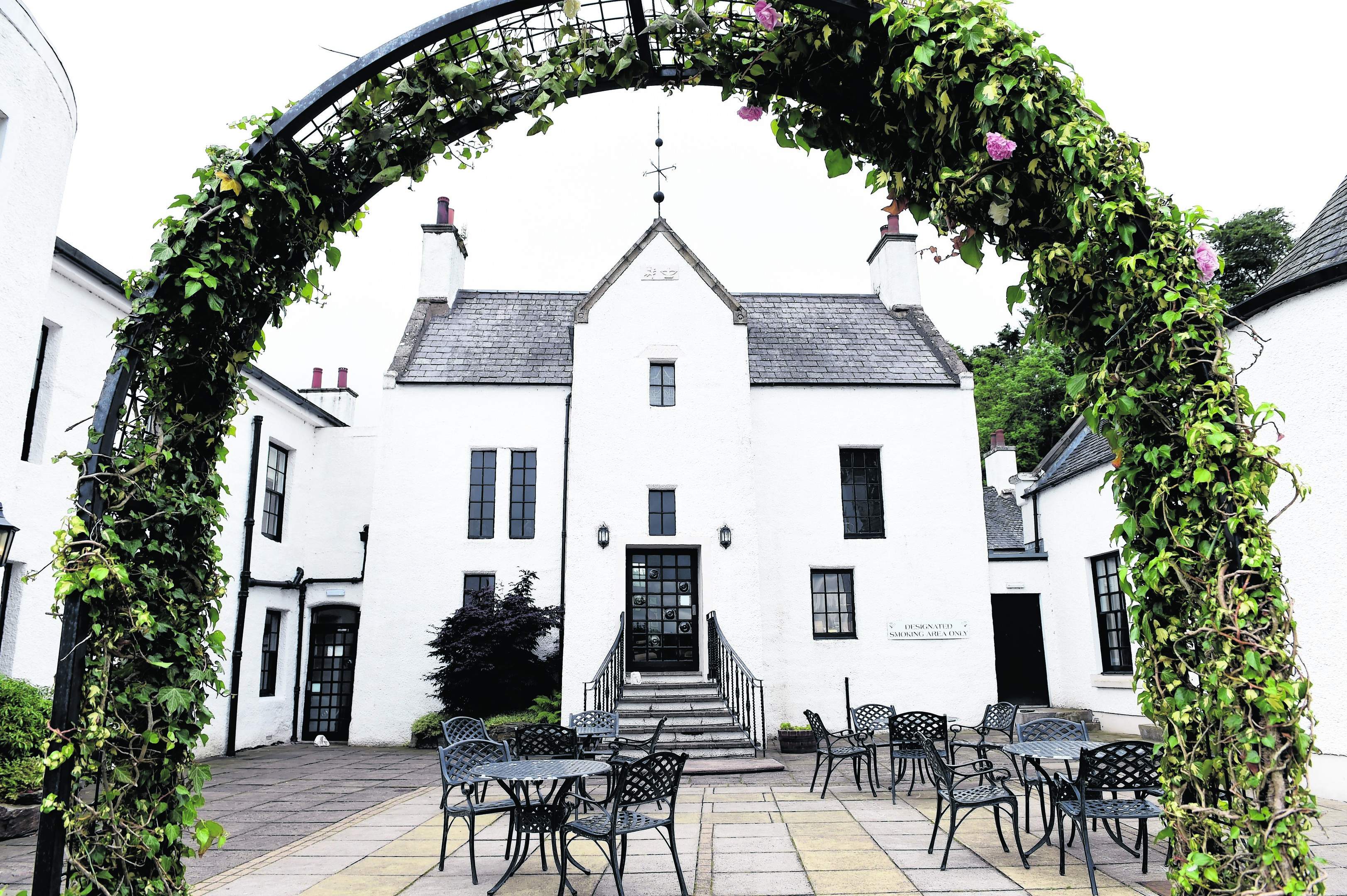 Restaurant Review - Maryculter House Hotel.  Picture by KEVIN EMSLIE