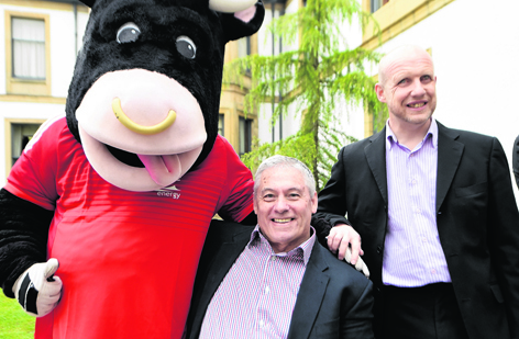 Angus the Bull, Andrew Lawtie and Neil Skene