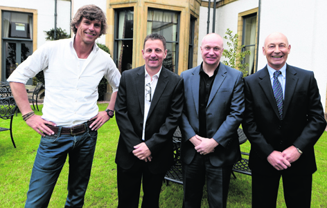 Willem Van Der Ark, Paul Masson, Graham Watson and Drew Jarvie