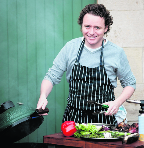 Michelin-star chef Tom Kitchin