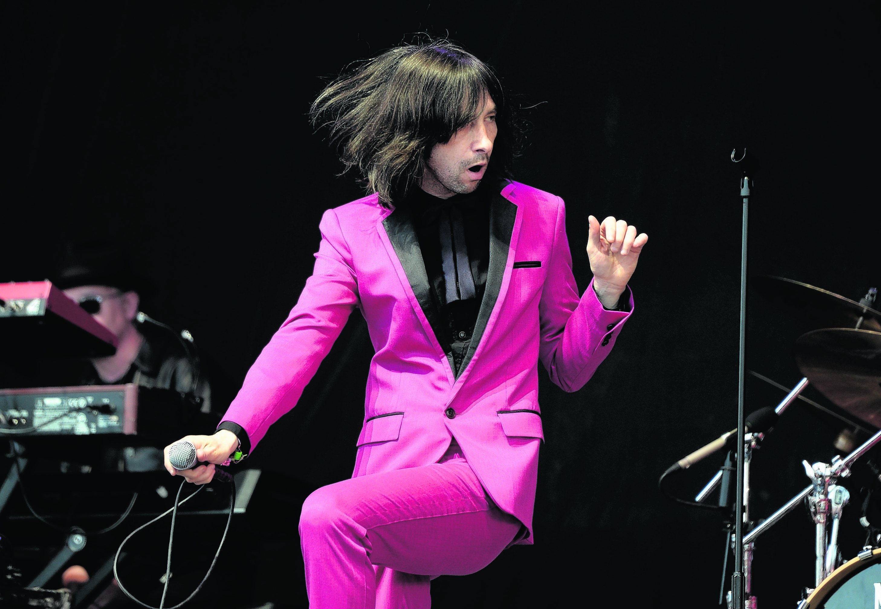 Bobby Gillespie from Primal Scream.