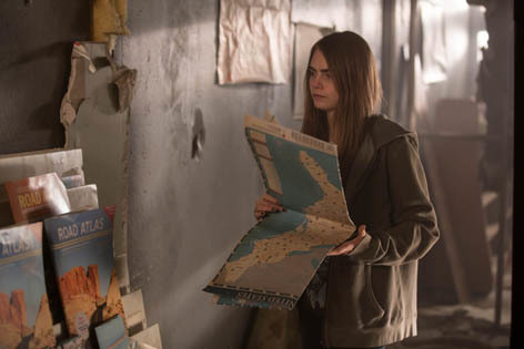 Cara Delevingne in Paper Towns