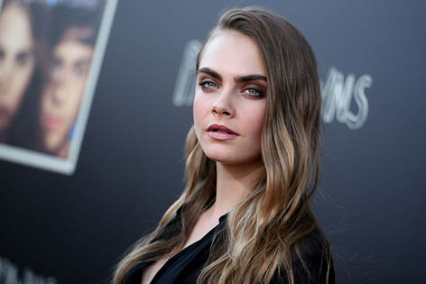 Model-turned-actress Cara Delevingne