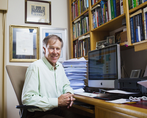 Sports scientist and marathon runner Professor Tim Noakes
