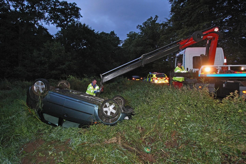 A82 car crash