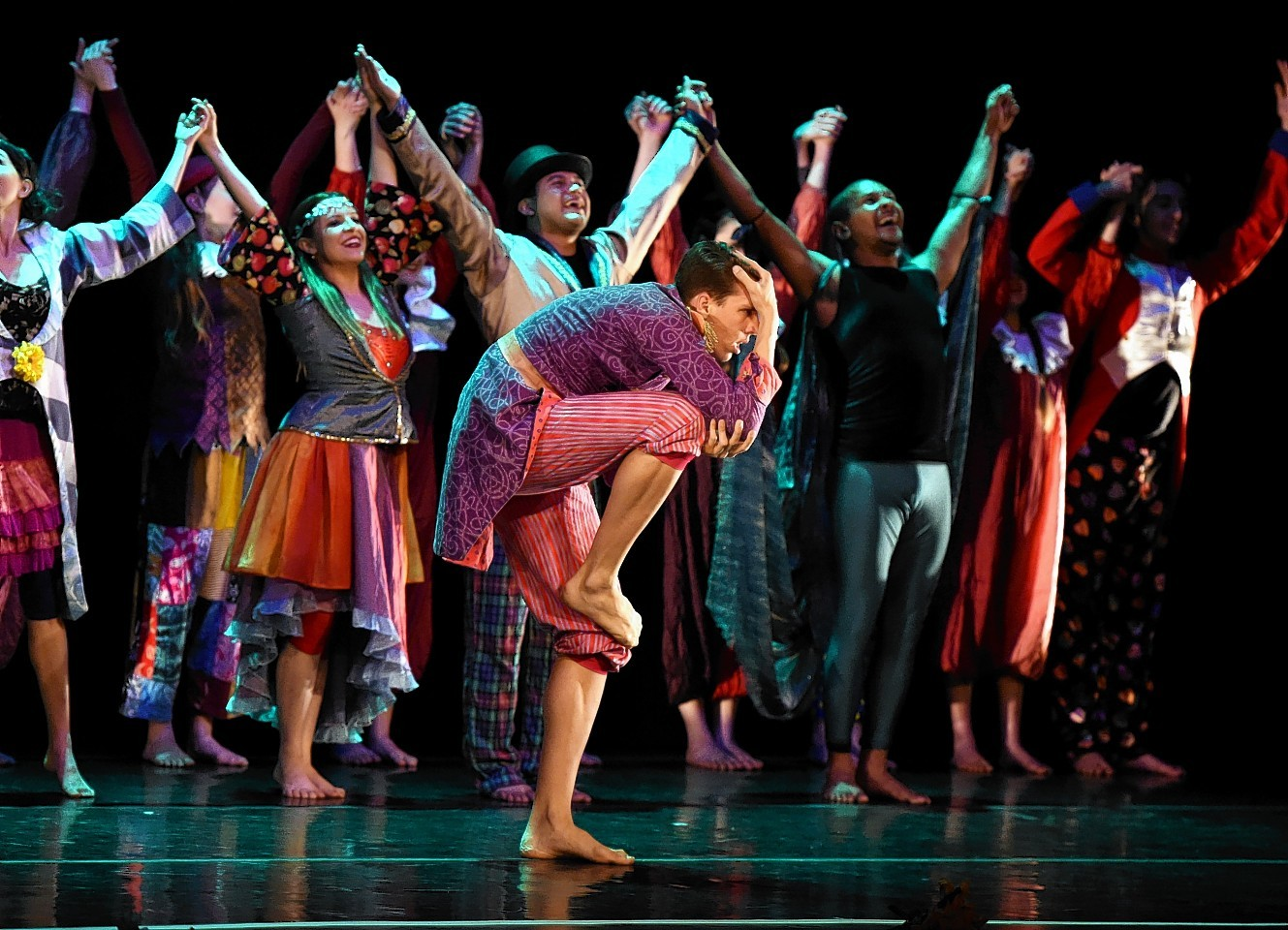 Ulysses Dance Company performing an excerpt from A Midsummer Night's Dream