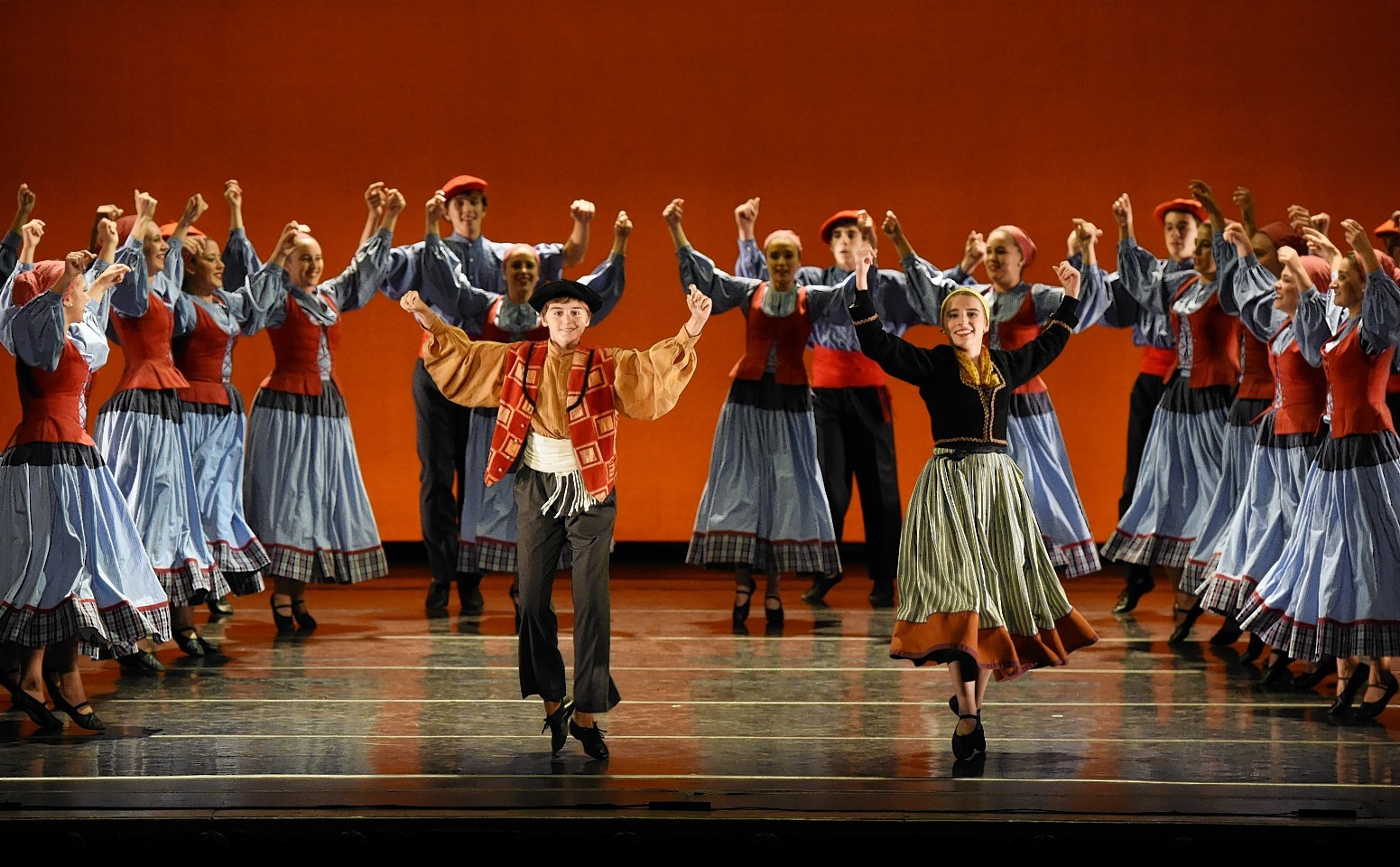 Kresala Basque Dance Company performing at AIYF International Variety Gala at HMT. Pictures by Kevin Emslie