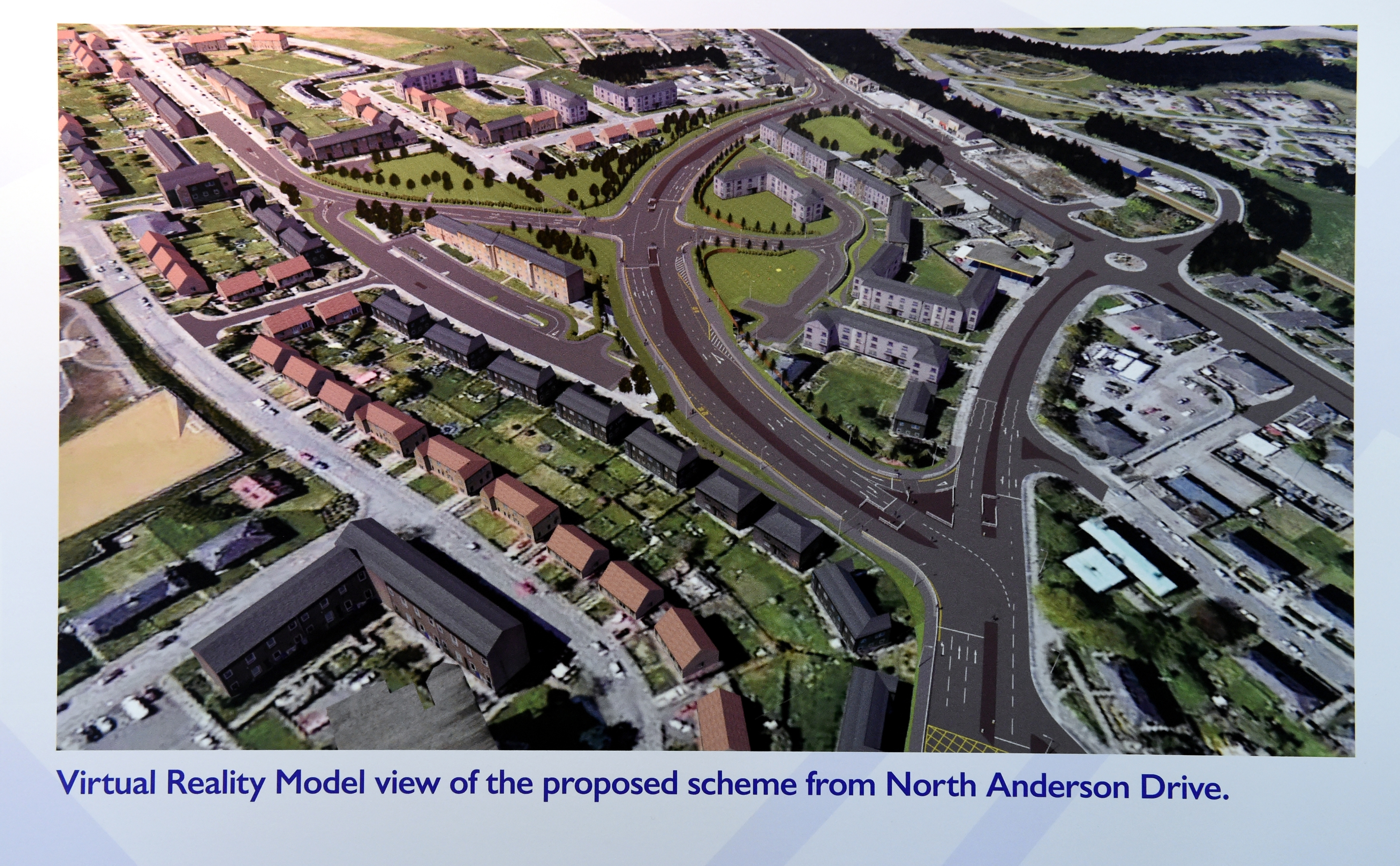 Proposed design for improvements to the Haudagain Roundabout