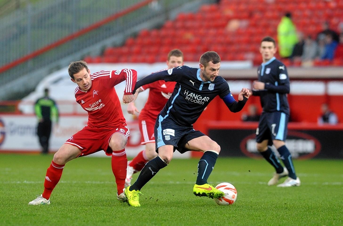 Dundee v Aberdeen kicks off at 12.30