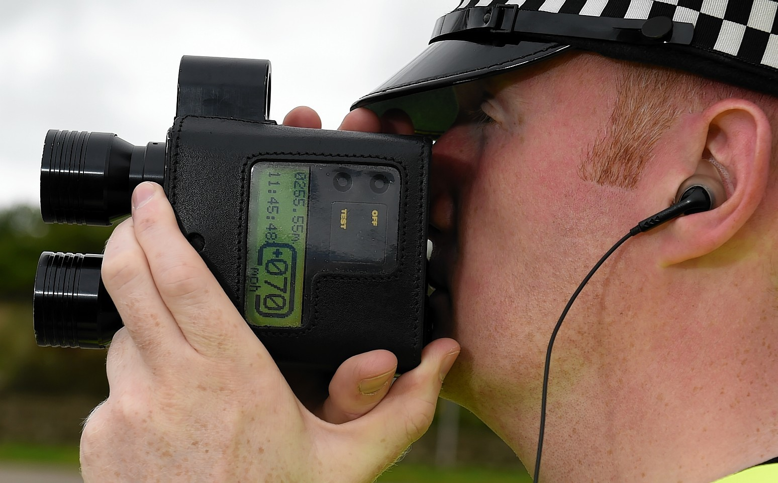 Police have caught 1,116 additional people speeding on Highland roads so far this year