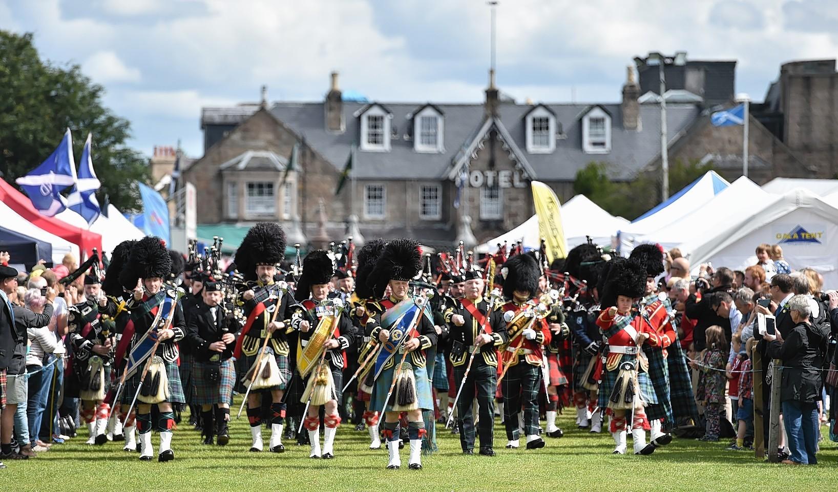 Bobbies will become a rarer sight at Highland games